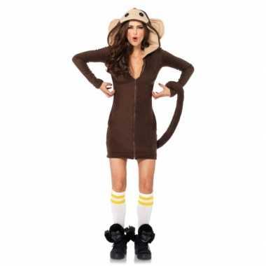 apen verkleed kostuumje dames carnaval | kostuum-carnaval.nl