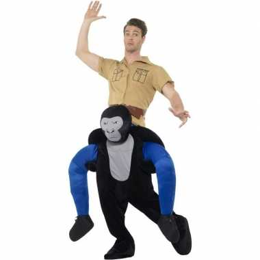 Apenkostuum gorilla volwassenen carnaval