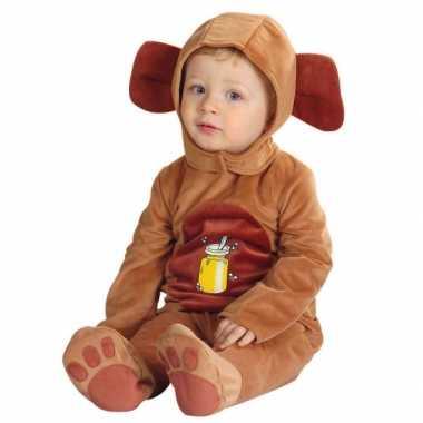 Baby kostuum een beer carnaval
