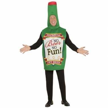 Bierfles kostuum volwassenen carnaval