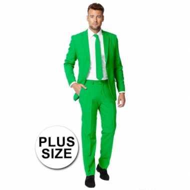 Size Heren Groen Carnaval Kostuum Big AnTqxvn