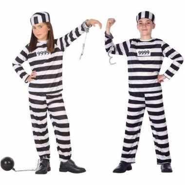Boef/boeven verkleed kostuum/kostuum kinderen carnaval