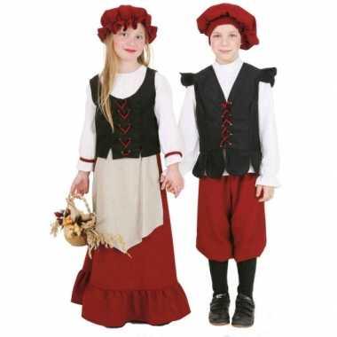 Boeren kostuum jongens carnaval