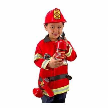 Brandweer kostuum kids compleet carnaval