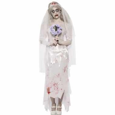 Bruid kostuum Halloween carnaval