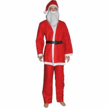 Budget kerstman verkleed kostuum kinderen carnaval