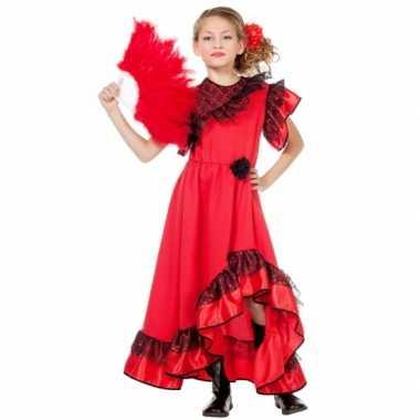 Carmen kostuum jurk meiden carnaval