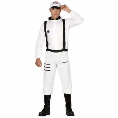 Carnaval/feest astronauten verkleed kostuum heren