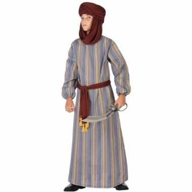 Carnaval/feest lange arabische verkleedkostuum ali jongens