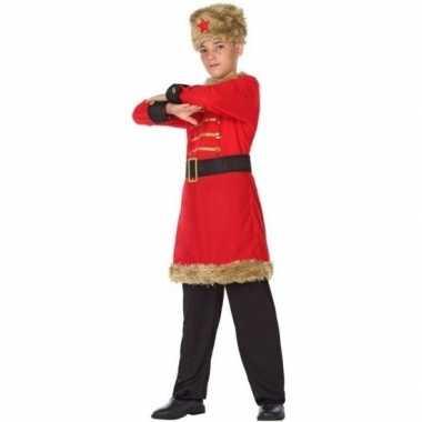 Carnaval/feest russische kozak verkleedkostuum jongens