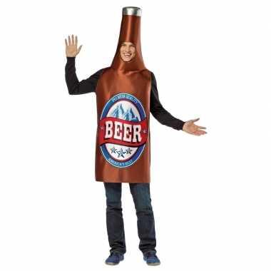 Carnavalskleding bierfles kostuum