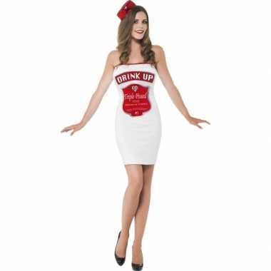 Carnavalskleding Dames Jurkje.Carnavalskleding Dames Drink Up Kostuum Jurkje Kostuum Carnaval Nl