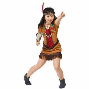 Carnavalskleding indianen kostuum jurkje meisjes