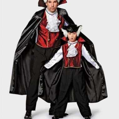 Carnavalskleding vampier kostuum heren