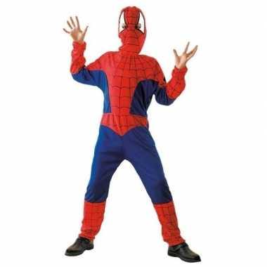 Cartoon kostuum spinnen jongen carnaval