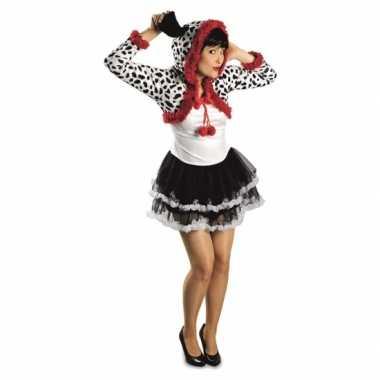 Dames dalmatier hond kostuum carnaval