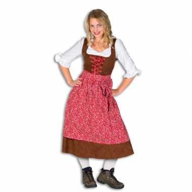 Dames Tiroler kostuum jurken carnaval