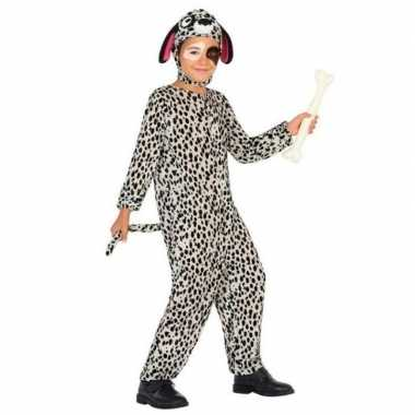 Dierenkostuum hond/honden verkleed kostuum dalmatier kinderen carnav