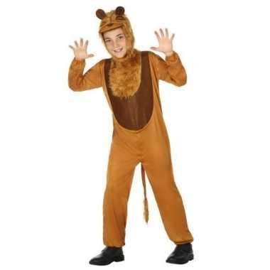 Dierenkostuum leeuw/leeuwen verkleed kostuum kinderen carnaval