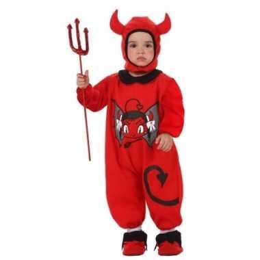 Duivel kostuum baby's carnaval