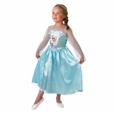 Elsa frozenkostuum jurk kinderen carnaval