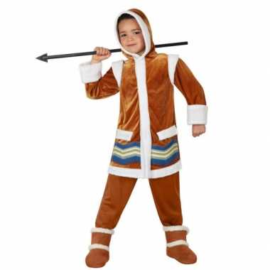 Eskimo kostuum jongens carnaval 10054119