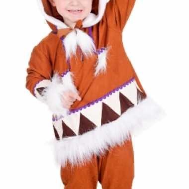 Eskimo kostuum jongens carnaval