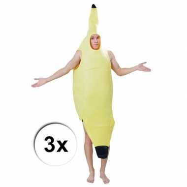 Feest groepskostuum bananentros carnaval