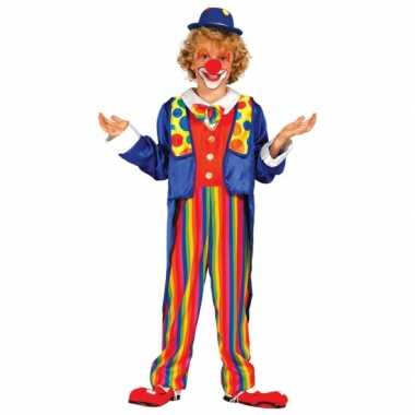 Feest kostuum clown carnaval