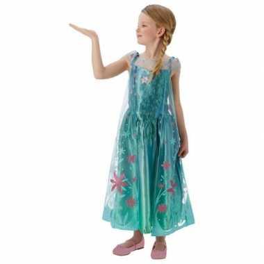 Frozen Fever verkleed kostuum jurkje meiden carnaval