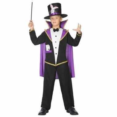 Goochelaar verkleed kostuum/kostuum kinderen carnaval
