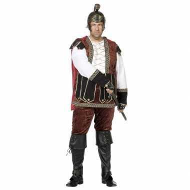 Grote maat middeleeuws kostuum heren carnaval