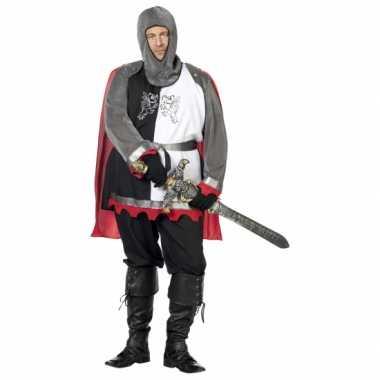 Grote maat middeleeuwse ridder kostuumken carnaval