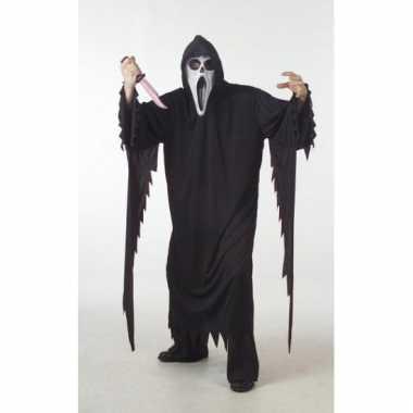 Grote maten kostuum Scream carnaval
