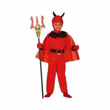 Halloween kostuum duivel kinderen carnaval