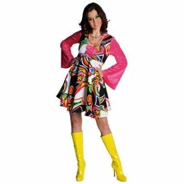 Hippie kostuum jurkje carnaval kleding