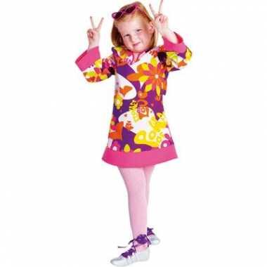 Hippie kostuum jurk meiden carnaval