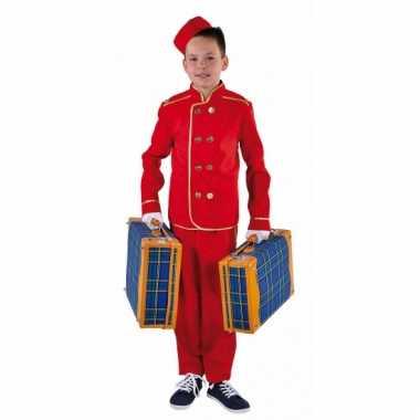 Hotelbediende kostuum kinderen carnaval