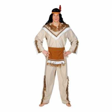 Indiaan adahy carnaval kostuum heren