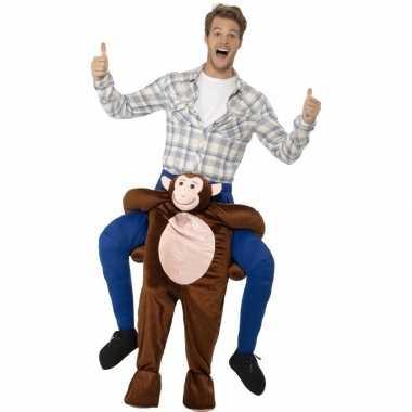 Instap dierenkostuum aap volwassenen carnaval