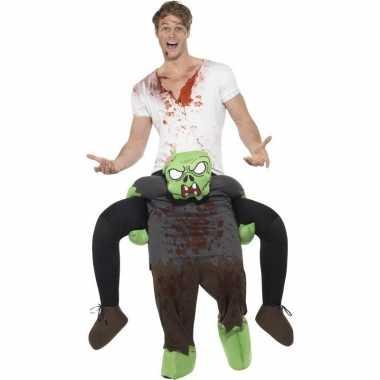 Instapkostuum zombie volwassenen carnaval