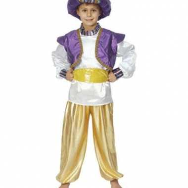 Jongens kostuum Aladdin carnaval