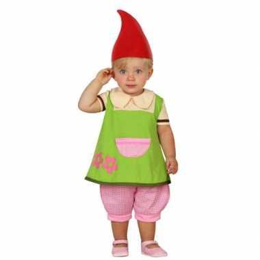 Kabouter elf kostuumje peuters carnaval