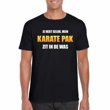 Karatekostuum zit was heren carnaval t kostuum zwart