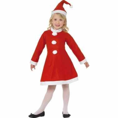 Kerst kostuum jurkje meiden carnaval