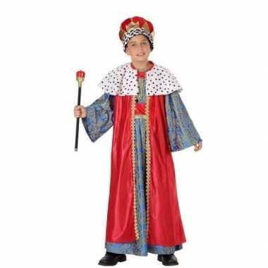 Kerst kostuum melchior jongens carnaval