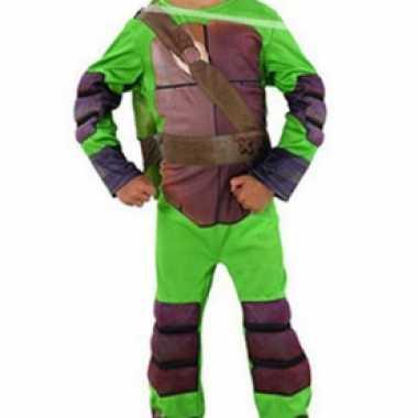 Kinder Ninja Turtle Leonardo kostuum carnaval