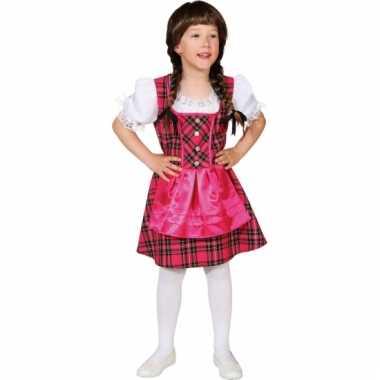Kinder Tiroler kostuum jurkjes carnaval