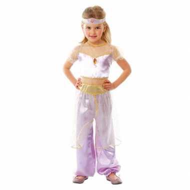 Kinderkostuum paars Arabische prinses carnaval