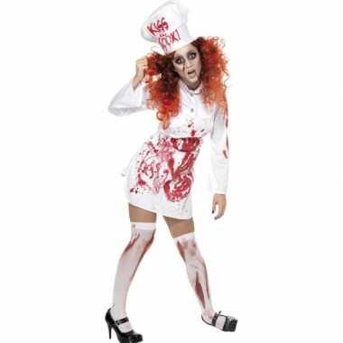 Kokkin kostuum bloed carnaval